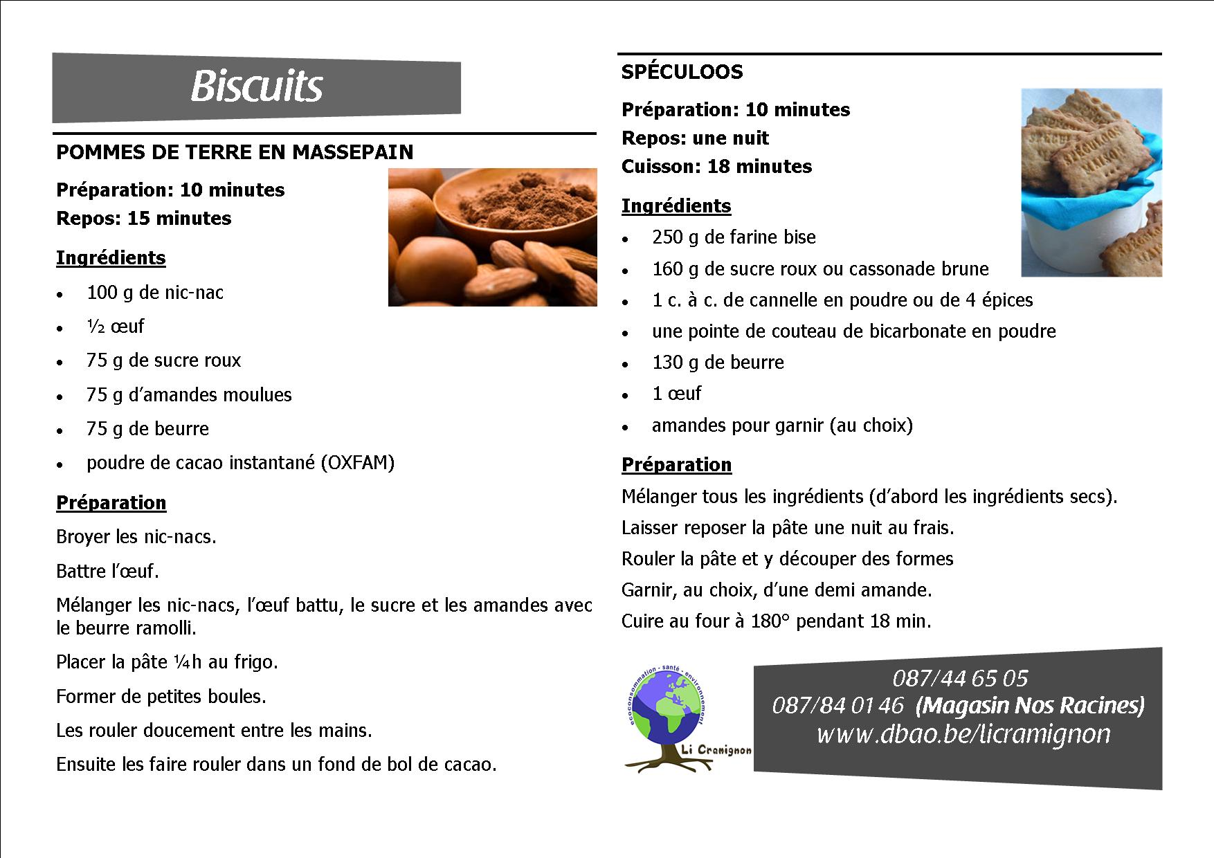 PDT MASSEPAIN + SPECULOOS
